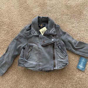 NWT Lucky Brand Denim Jacket 2T